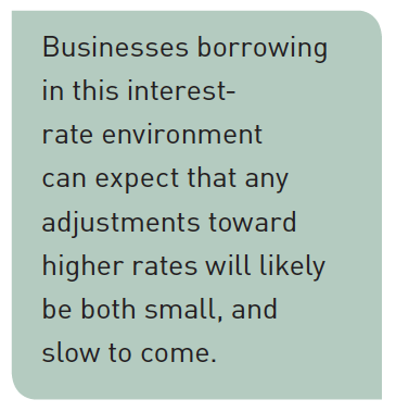 businesses borrowing